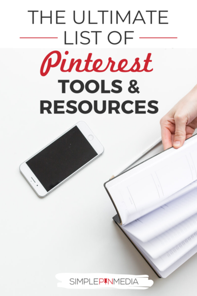 Simple Pin Pinterest Tools and Resources